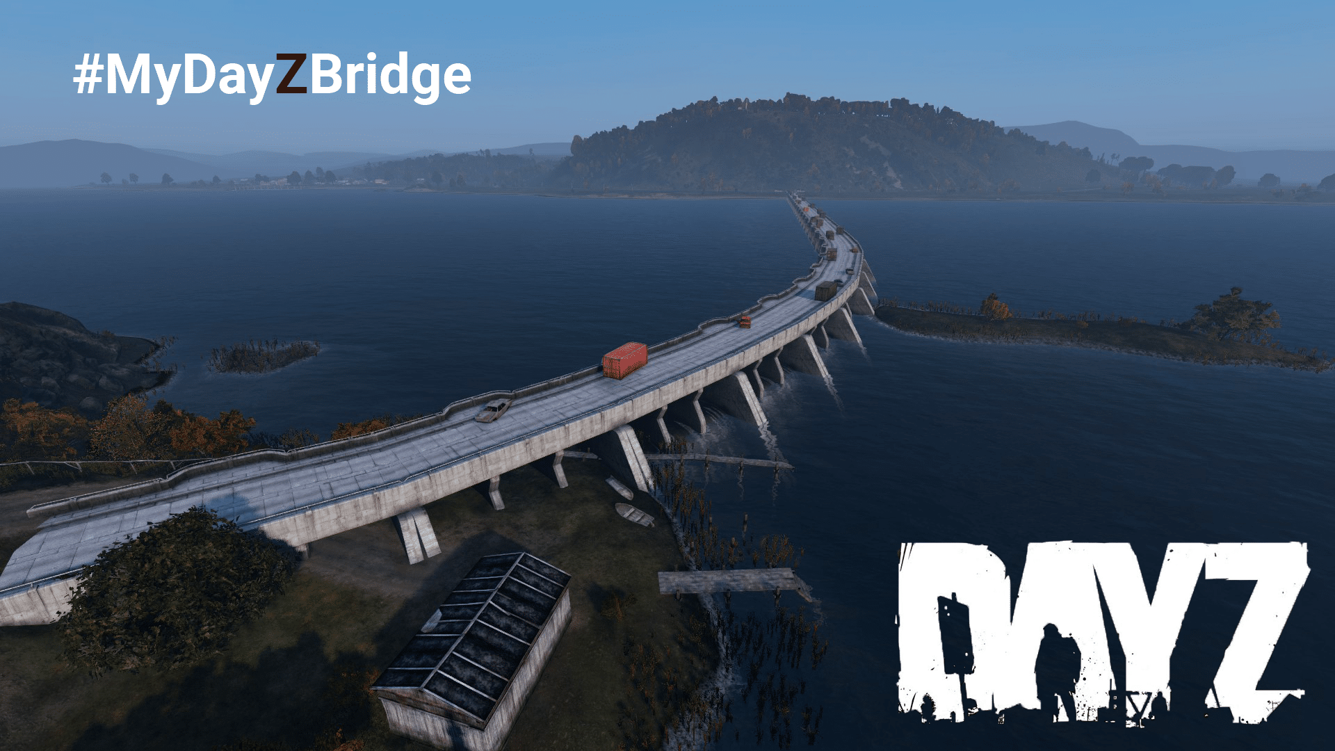 New bridge to Prison Island