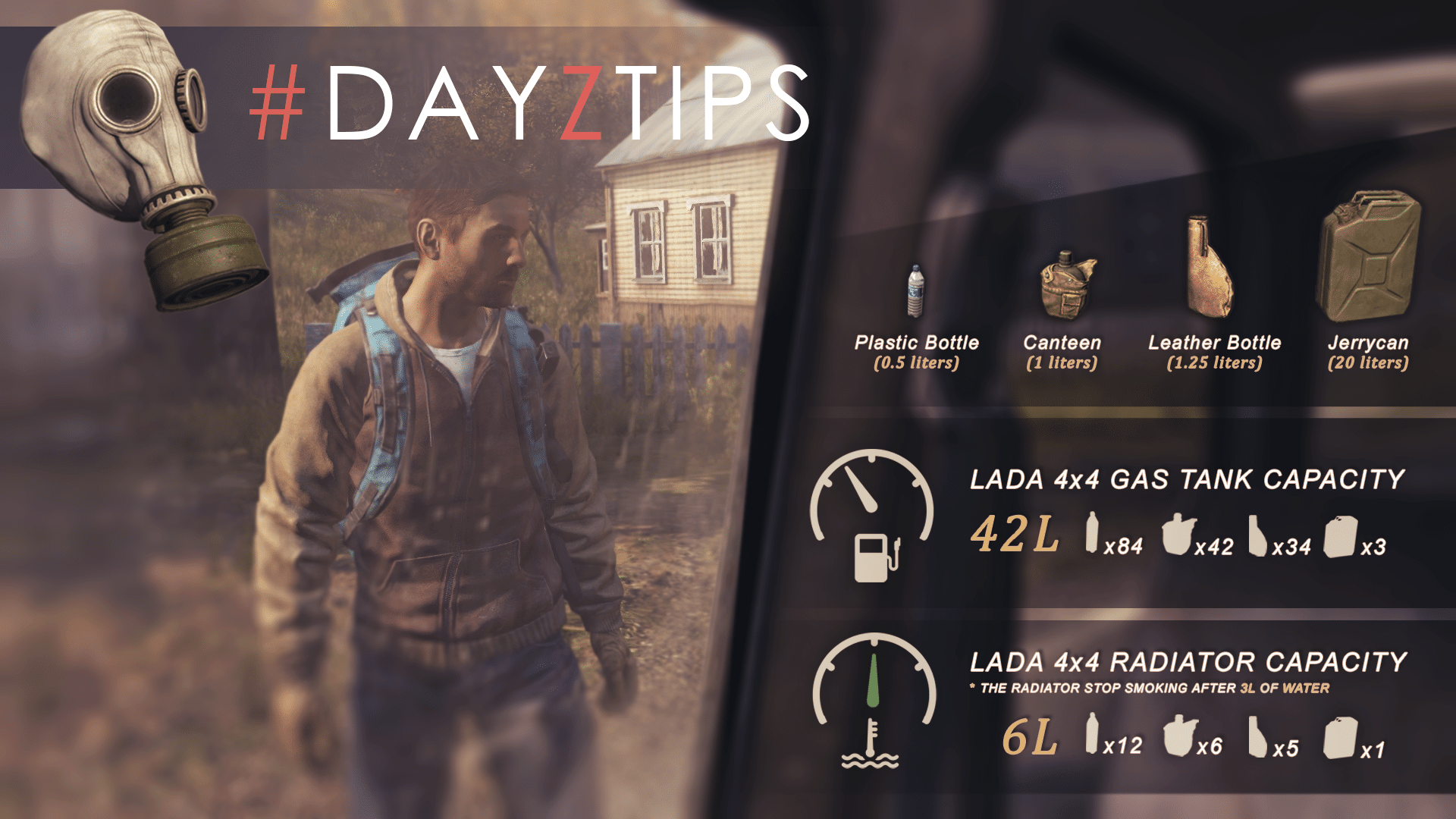 DayzTips 19 Always plan your way home...